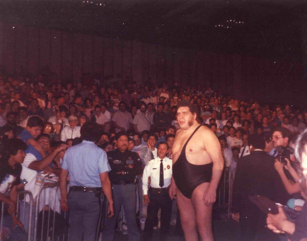 Andre the Giant -Sportsmen Who turned Actors